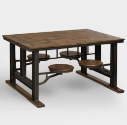 World Market Galvin Cafeteria Table for $480