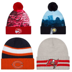 Men's NFL, NBA, MLB, and NCAA Hats for $5 each