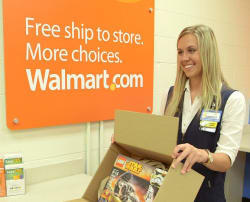 Walmart Introduces In-Store Pickup Discount