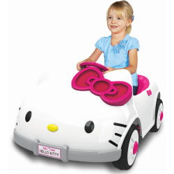 Dynacraft Hello Kitty Battery-Powered Ride-On $79
