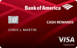 Bank of America® Cash Rewards: $150 cash rewards