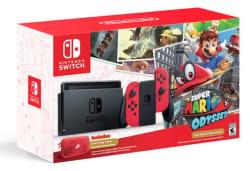 Nintendo Switch Mario Odyssey Console Bundle $380
