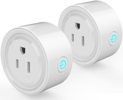WiFi Smart Plug Mini Outlet 2-Pack for $20