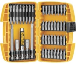 DeWalt 45-Piece Screwdriving Set for $10
