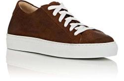 Barneys New York Men's Oiled Suede Sneakers $45