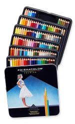 132 Prismacolor Soft Core Colored Pencils for $50