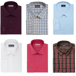 5 Men's Dress Shirts for $50