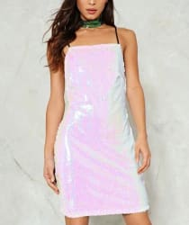 Nasty Gal Women's Sparkle of My Eye Dress for $32