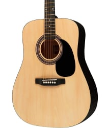 Rogue Dreadnought Acoustic Guitar for $50