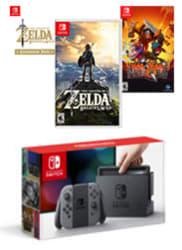 Nintendo Switch Joy-Con Zelda Bundle for $400