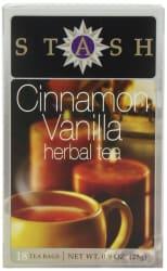 108 Stash Cinnamon Vanilla Herbal Tea Sachets $5