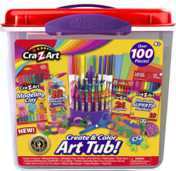 Cra-Z-Art Super Art Tub for $12