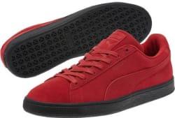 PUMA Men's Black Sole Shoes for $25