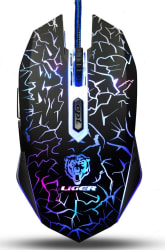 Liger 6-Button Gaming Mouse for $5