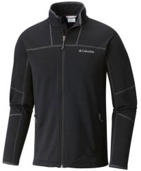Columbia Men's Walnut Hills Zip Fleece Jacket $35