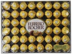 Ferrero Rocher Chocolate 48-Count Gift Box for $10