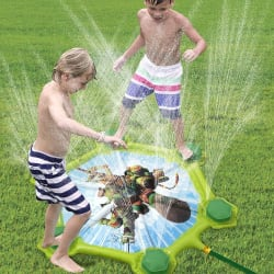 TMNT Sewer Stomp Splash Pad for $12