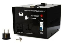 Rockstone Power 3,000W Transformer Converter $103