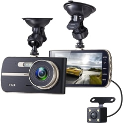 Sebikam 1080p DVR Car Dash Cam w/ Rear Cam for $48