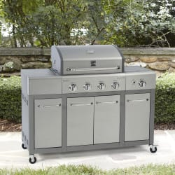 Kenmore 4-Burner Gas Grill with Storage for $249