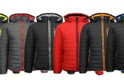 Men's Heavyweight Puffer Jacket for $36