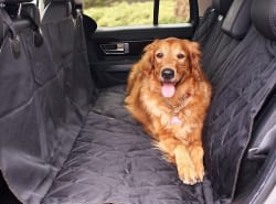 """BarksBar 54"""" x 58"""" Pet Quilted Car Seat Cover $21"""
