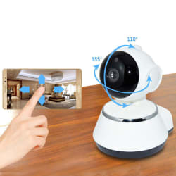 720p Pan and Tilt WiFi Security Camera for $20