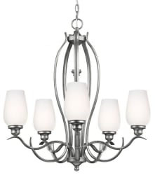 Feiss Standish 5-Light Single Tier Chandelier $98