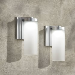 Possini Cleo LED Outdoor Wall Light 2-Pack for $50