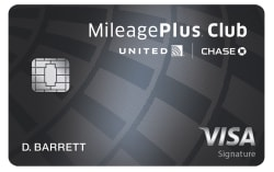 United MileagePlus® Club Card 50,000 miles