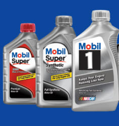 Mobil 5-Quart Motor Oil at Walmart from $7