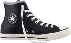 Converse Men's Chuck Taylor Leather Hi-Tops $30