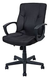 Staples Stiner Fabric Managers Chair for $40