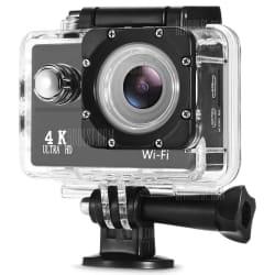 F60 4K WiFi Action Camera w/ Waterproof Case $26