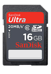 SanDisk 16GB Ultra SDHC Memory Card for $6