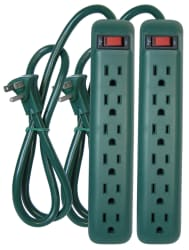 Prime 6-Outlet Power Strip 2-Pack for $4
