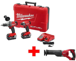 Milwaukee Combo Kits at Home Depot for $329