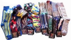 6 Pairs of Erni Vales Men's Dress Socks $10