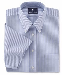 Stafford Men's Short-Sleeve Dress Shirt for $7
