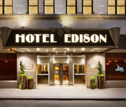 2Nts at Hotel Edison in NYC from $87 per night