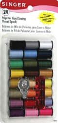 Singer Polyester Thread Spools 24-Pack for $2