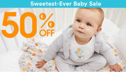Gymboree Sweetest-Ever Baby Sale: 50% off