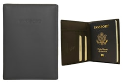 Visconti RFID-Block Leather Passport Wallet $20