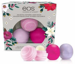eos 2016 Holiday Lip Balm Sphere 3-Pack for $9