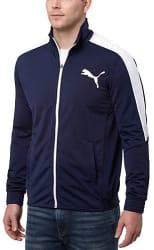 PUMA Men's Contrast Track Jacket for $20