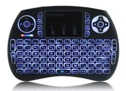 iPazzPort Wireless Mini Keyboard w/ Touchpad $8