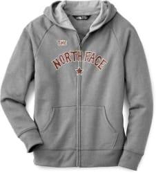 The North Face Girlsu0027 Logowear Full Zip Hoodie $16