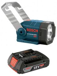 Bosch 18V Flashlight w/ Slim Battery for $33