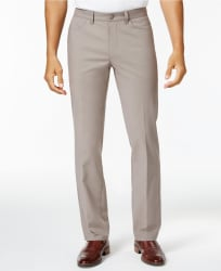 Alfani Men's Luxe Stretch Chinos for $12
