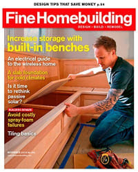 Fine Homebuilding 2-Year Subscription for $20